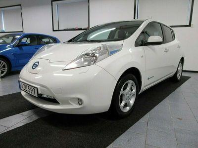 begagnad Nissan Leaf 30 kWh 109 hk Endast 2000 mil 360 kr årsskatt