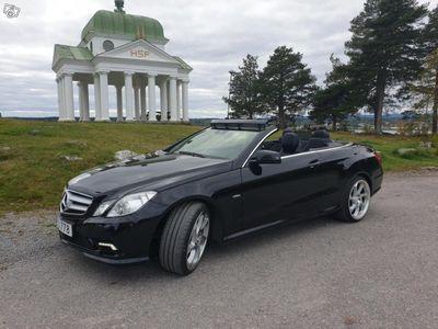 begagnad Mercedes E200 CAB AMG Svensksåld -11