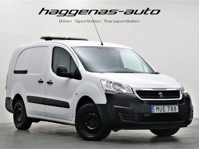 begagnad Peugeot Partner 1.6 BlueHDi / L2 lång / Drag