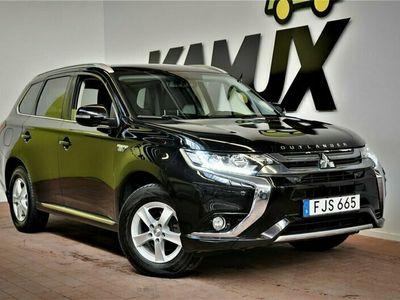 begagnad Mitsubishi Outlander P-HEV Hybrid 4WD Business Nav Drag S&V-Hjul