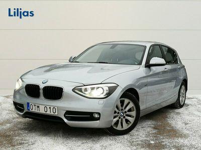 begagnad BMW 118 d Sport 5-d Aut 143hk