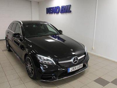 begagnad Mercedes C220 d Kombi AMG Drag Navi