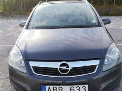 begagnad Opel Zafira 1.8 7 sits -07
