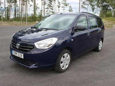 begagnad Dacia Lodgy 1.6 MPI 83hk, 6 Mån.Garanti -15