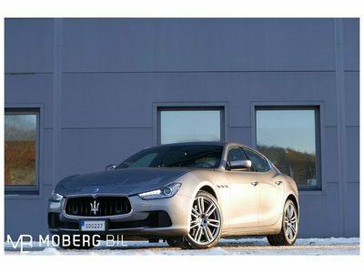 "begagnad Maserati Ghibli Diesel 275hk Sport 20"" Urano EU6 Svensksåld"
