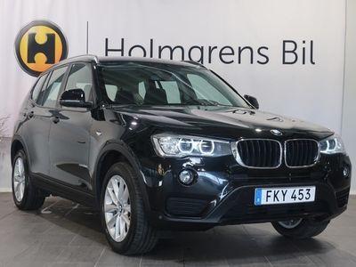 brugt BMW X3 xDrive 20d Sport (190hk) reg datum 2016-10-07