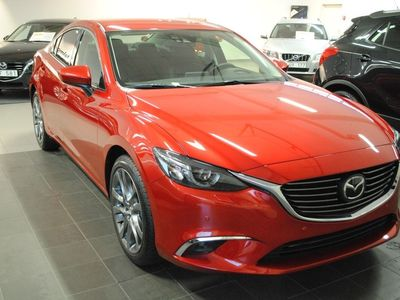 begagnad Mazda 6 OPTIMUM 2.2 DE 175 HK AUTOMAT SEDAN