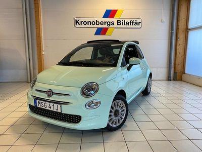 begagnad Fiat 500C 500 CLounge 1.2 Euro 6 2020, Cab 149 200 kr