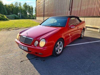 begagnad Mercedes CLK230 Kompressor Cab/Aut/Skin