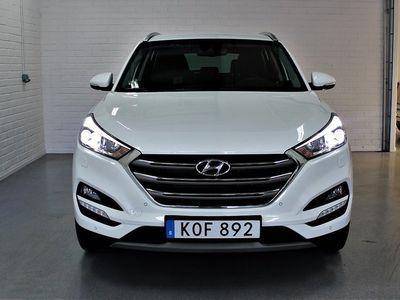 gebraucht Hyundai Tucson 1.6 T-GDI 4WD DCT Euro 6 177hk