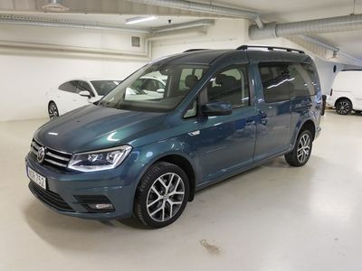 begagnad VW Caddy Maxi Life Comfortline EU6 TDI 150hk DSG/4Motion