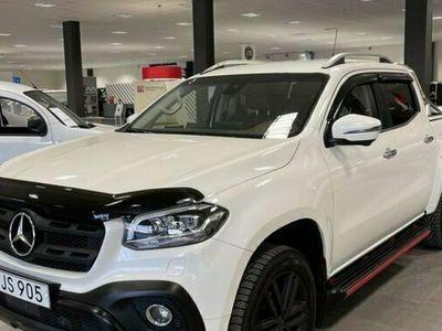begagnad Mercedes X250 X Benz4X4 AUT PROGRESSIVE EDITION LÅG SKAT 2018, Transportbil Pris 386 250 kr