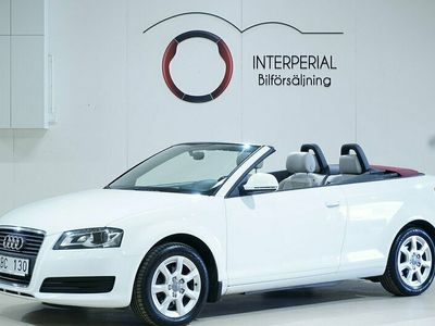 begagnad Audi A3 Cabriolet Cab 2.0 TDI Drag En ägare Skinn Comfort