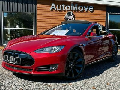 begagnad Tesla Model S 85D Dual 525hk Panorama Luftfjädring