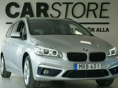 begagnad BMW 220 Gran Tourer d xDrive Sport Line Drag 7-sits 2016, Kombi Pris 209 900 kr