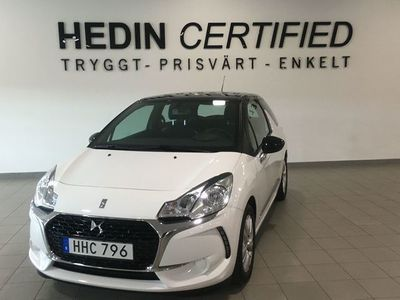 begagnad DS Automobiles DS3 1.2 VTi Manuell, 82hk, STYLE