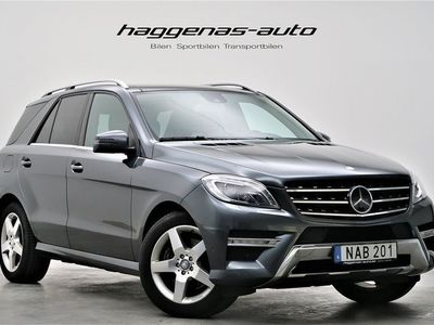 begagnad Mercedes 350 M-KlassCDI 4MATIC / AMG / Luftfjädring