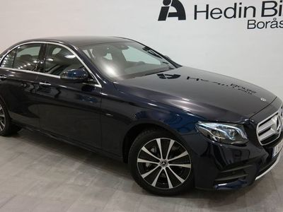 begagnad Mercedes E300 // Sedan // AMG // Dragkrok // premium plus pkt // laddhybrid // demo //