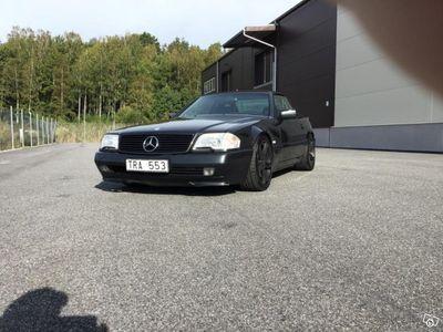 begagnad Mercedes SL500 Välskött -93