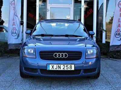 begagnad Audi TT Coupé 1.8 T quattro 225hk Ny Servad