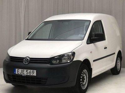 begagnad VW Caddy 1.6 TDI /Värmare/låga mil
