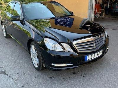 begagnad Mercedes E200 8 NGT