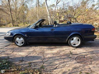 begagnad Saab 900 Cabriolet turbo 2.0 185 hk -96
