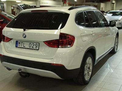 begagnad BMW X1 18d AUT S-DRIVE DRAG V-DÄCK
