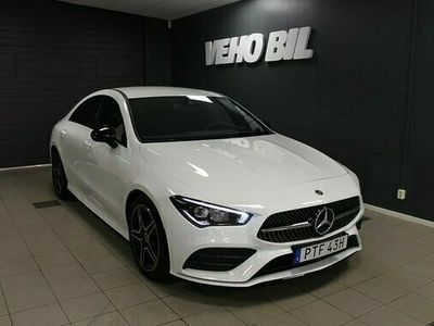 begagnad Mercedes 200 CLA BenzCoupé AMG Navi 2020, Sportkupé Pris 339 000 kr