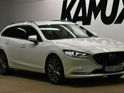 begagnad Mazda 6 6Wagon Söndagsöppet 25 7 2.5 Aut Signature | Bose | Värmare | Bac 2019, Kombi Pris 249 800 kr