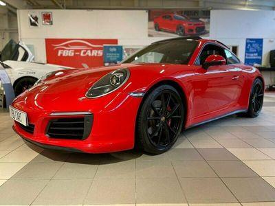 begagnad Porsche 911 Carrera 4S PDK Sport Chrono Full Utrustad