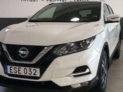 begagnad Nissan Qashqai n-connecta roof pach 115hk