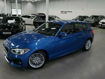 "begagnad BMW 118 i LCI M-Sport Läder LED Eluppvärmd Ratt 17"""