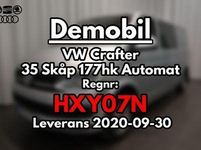 begagnad VW Crafter 35 Skåp 177hk Automat