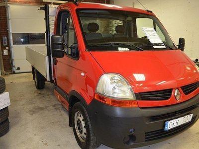 begagnad Renault Master 2,5dCi 120hk Pick-Up YdreFlak