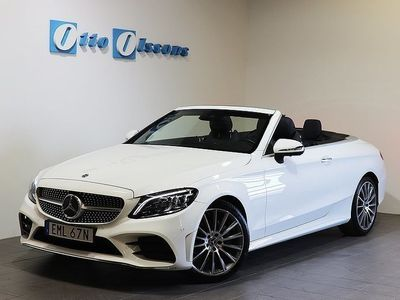 begagnad Mercedes C200 Cabriolet AMG Cab, Aut, PremiumPlus, Nav