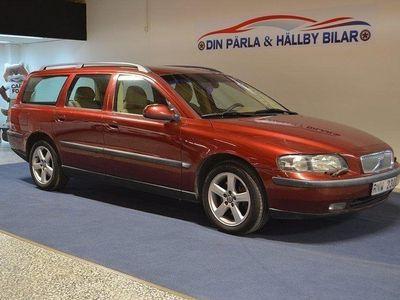 begagnad Volvo V70 2.4T 200hk Ny Besiktad Drag