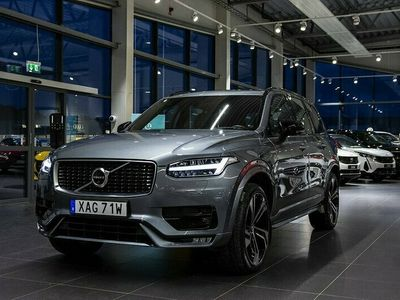 begagnad Volvo XC90 T5 AWD R-Design 7-sits 22 tum Leasebar Panorama