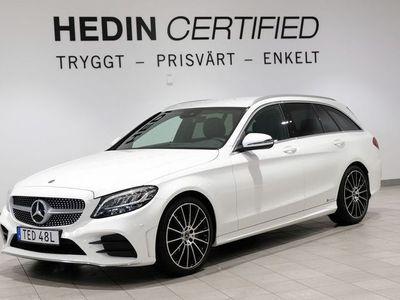 begagnad Mercedes C220 D AMG, Kombipaket, 2 Års Nybilsgaranti!