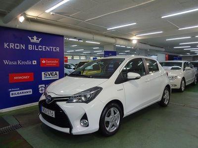 begagnad Toyota Yaris Hybrid 1.5 VVT-i CVT Auto Euro6