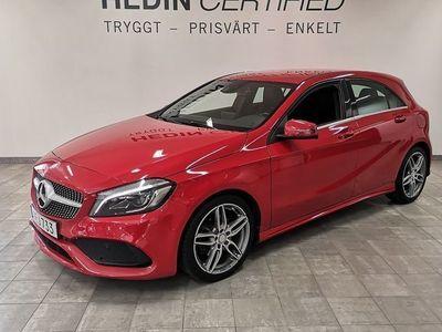 begagnad Mercedes 180 A-KLASS// AMG Sportpaket // 1 Ägare