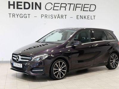 begagnad Mercedes B200 CDI 4MATIC 7G-DCT, 136hk, 2015