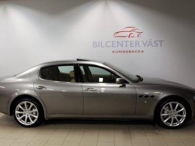begagnad Maserati Quattroporte 4,2 V8 400HK AUT SV-SÅLD 9800MIL NYSERVAD
