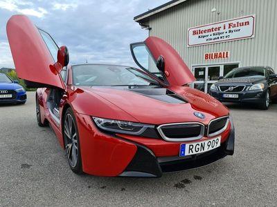 begagnad BMW i8 Steptronic/Euro 6/362hk/Svensksåld/1500MIL/