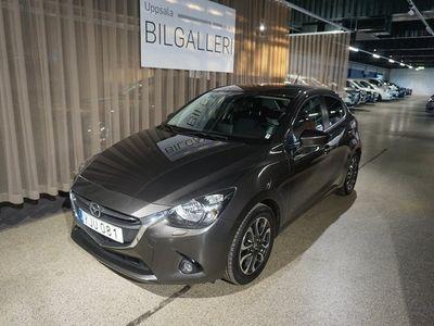 begagnad Mazda 2 55-dörrar 1.5 Vision Plus V-hjul Lång kvarvarande ekonomi 2017, Halvkombi 133 900 kr