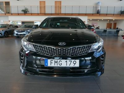 begagnad Kia Optima GT-Line Automat-Läder-Xenon-Vinterhjul 2018, Personbil 239 500 kr