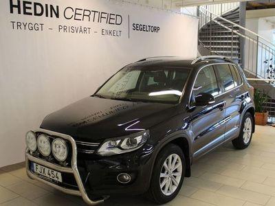 begagnad VW Tiguan 2,0 TDI 4Motion 177hk Aut Drag S+V-hjul