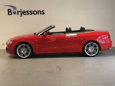 begagnad Audi A5 Cabriolet 2.0 TFSI 211hk quattro S Tronic S-Line