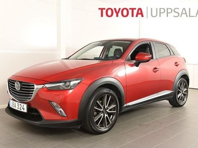 begagnad Mazda CX-3 2,0 Optimum Skyactive (120hk)GPS/Drag