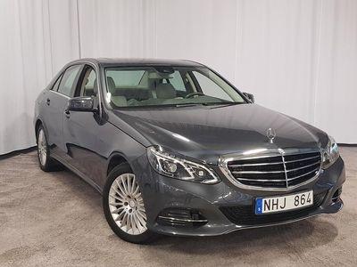 begagnad Mercedes E350 EBlueTEC 4MATIC